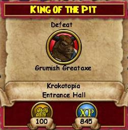 Q KT King of the Pit