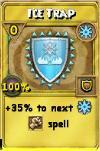 Ice Trap Treasure Card