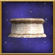 Frozen Pedestal-WizardCityFurniture