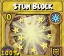 Stun Block Treasure Card