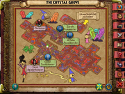 Stone Rose The Crystal Grove Map