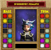 Hat DS Spiderkeeper's Icemantle Female