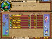 Sabrina Greenstar Trainable Spells