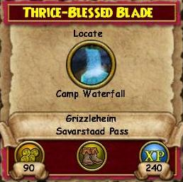 Thrice Blessed Blade QGH