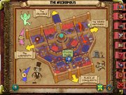 Stone Rose The Necropolis Map