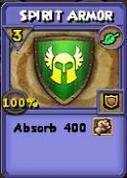 Spirit Armor Item Card Variation