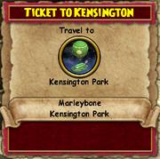 Ticket to Kensington