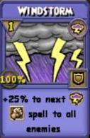 Windstorm Item Card