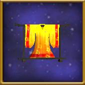 Yellow Silk Kimono