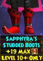 Sapphyra's Studded Boots Female