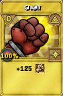 Giant Treasure Card
