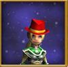 Hat Top Hat of Bottled Anger Female