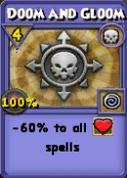 Doom and Gloom Item Card