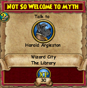 Not so Welcome to Myth 2