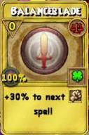 Balanceblade Treasure Card