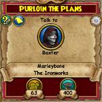 MB Q Purloin the Plans 1