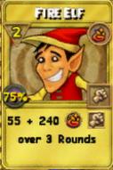 Fire Elf Treasure Card