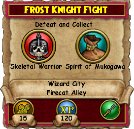Frost Knight Fight