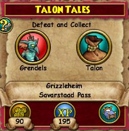 Talon Tales