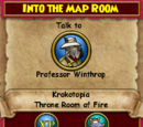 Into the Map Room