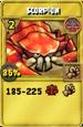 Scorpion Treasure Card