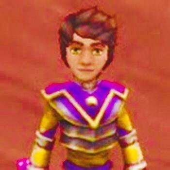 Connor Dragondust at a hidden location at Krokatopia