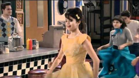 Wizards of Waverly Place 1957 Dance
