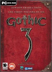 Gothic 3 - oficjalne logo Gothic 3 od CD Projekt free licensed 21.05.2008