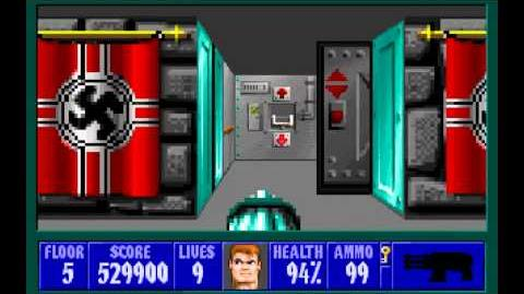 Wolfenstein 3D (id Software) (1992) Episode 1 - Escape From Castle Wolfenstein (Complete) HD