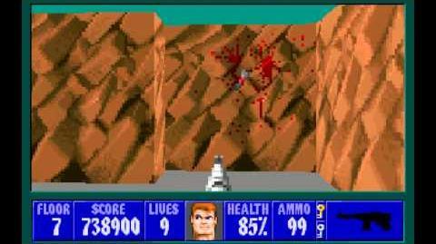 Wolfenstein 3D (id Software) (1992) Episode 6 - Confrontation - Floor 7 HD
