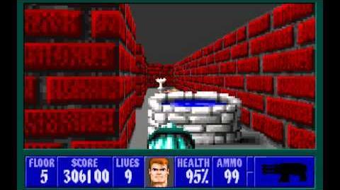 Wolfenstein 3D (id Software) (1992) Episode 3 - Die, Fuhrer, Die! - Floor 5 HD