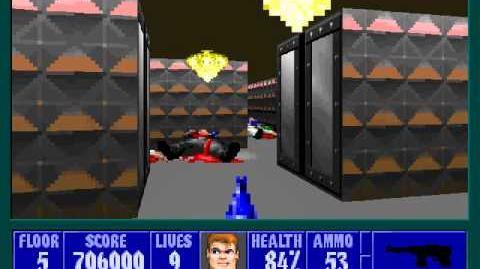 Spear Of Destiny 3 - Ultimate Challange - Floor 6 (Upper Bunker Area Boss - Trans Grosse)