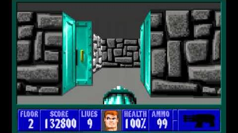 Wolfenstein 3D (id Software) (1992) Episode 6 - Confrontation - Floor 2 HD
