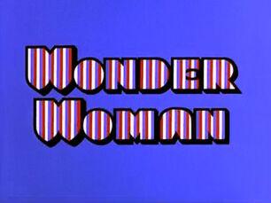 Wonder Woman 1974 title card