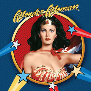 Wonder Woman 75th Anniversary Picture Disc Vinyl cover