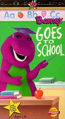 Barney The Backyard Gang Barney Goes To School Twilight - Barney backyard gang concert vhs