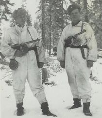 Finnish Soldiers with Suomis