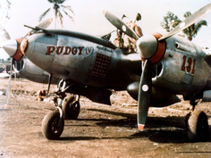 P-38 Lightning 'Pudgy' Pacific
