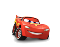Lightning McQueen DI Render