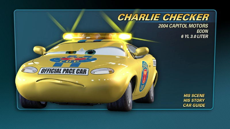 Charlie Checker World Of Cars Wiki Fandom Powered By Wikia