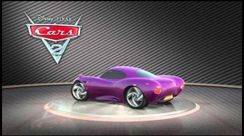 "Cars 2 Turntable ""Holley Shiftwell"""