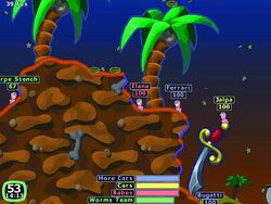 Worms 2 Game play