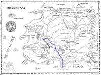 River Manetherendrelle map