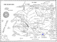 Fingers of the Dragon map
