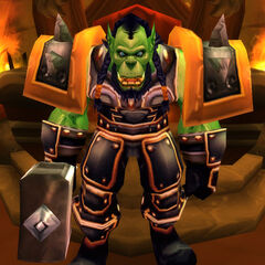 Teenage Thrall as seen escaping Durnholde Keep in the Caverns of Time.