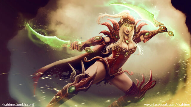 Datei:Valeera sanguinar wow fanart by xkahime.jpg