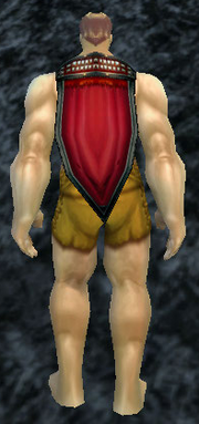 War Paint Cloak, Stone Background, Human Male