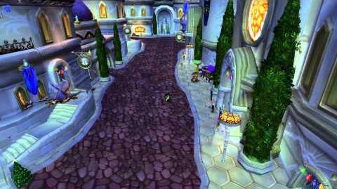 Walking across Dalaran
