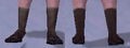 Bluegill Sandals, Snow Background, NE Female.png