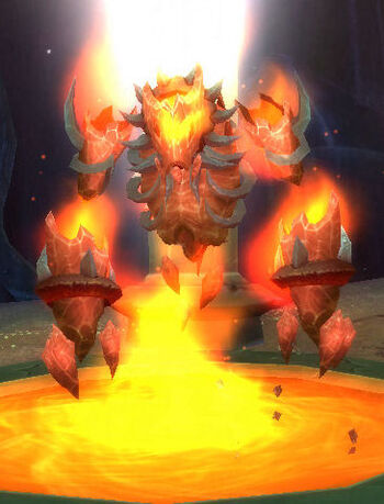 Bound Fire Elemental